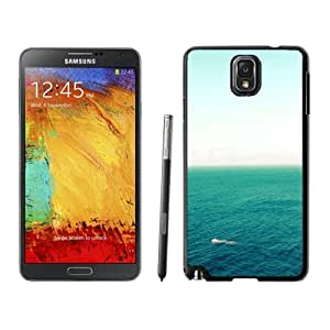 Custom and Personalized Cell Phone Case Design with iOS7 Boat On Open Ocean Galaxy NOTE 3 N900P Wallpaper