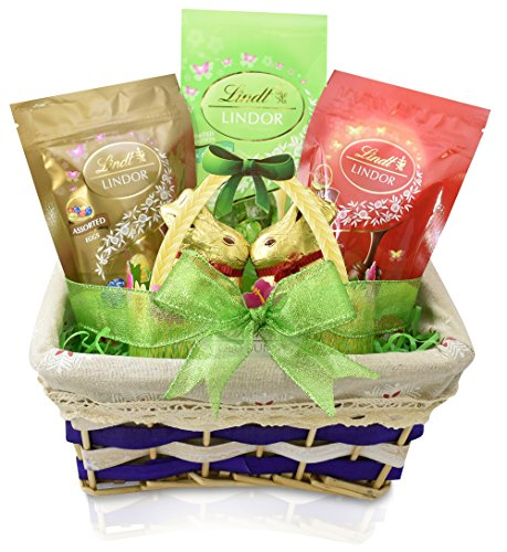 Gift-Universe-EASTER-Gift-Basket-with-Lindt-Milk-White-Chocolate-Truffles-Lindt-Milk-Chocolate-Gold-Bunny-Lindt-Milk-Chocolate-Truffle-Eggs-and-Lindt-Assorted-Chocolate-Truffle-Eggs