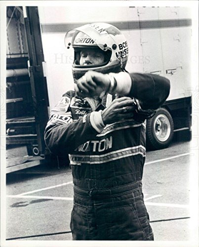 1981 Press Photo Detroit MI Auto Racer Bobby Unser 3x Indy 500 - Indy First 500 Winner