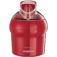 Magimix Glacier Sorbetière avec récipient pour gélatine 15W 1.5L Rouge
