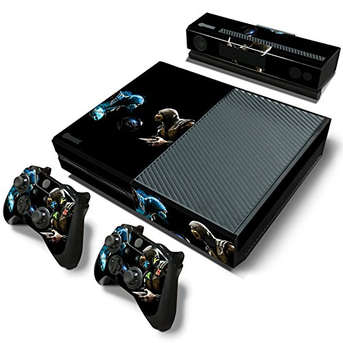 FriendlyTomato Xbox One Console and Controller Skin Set - Kombat Duel - PlayStation 4 Vinyl Mortal Fight -