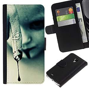 TaiTech / - Vampiro de Halloween oscuro gótico - Samsung Galaxy S4 Mini i9190