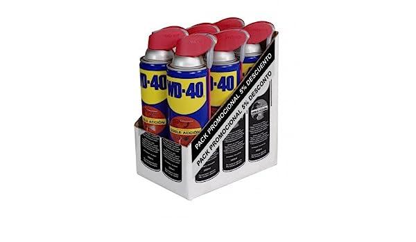 Wd-40 Company Ltd. EspañA 34198 - Aceite lubricante multi doble accion spray wd-40 500 ml: Amazon.es: Bricolaje y herramientas
