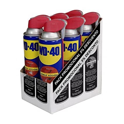 Wd-40 Company Ltd. EspañA 34198 - Aceite lubricante multi doble accion spray wd