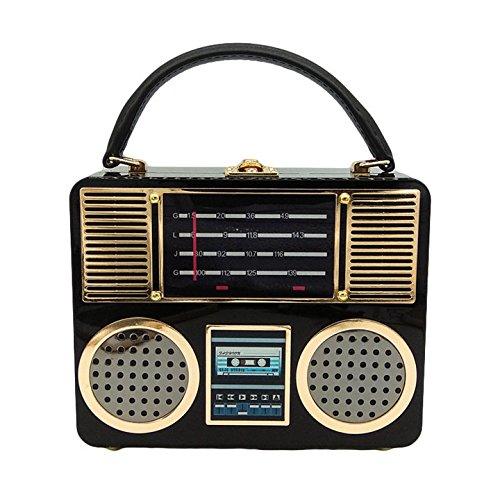 Personnalité Acrylique Radio Sac Européen Main Styling Et Sac Américain à WenL qwHp7xtBw