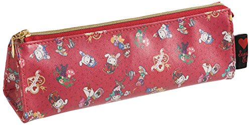 San-X Sentimental Circus Alice in Wonderland Theme Pen Pouch (Queen of Hearts) (Alice In Wonderland Shop)