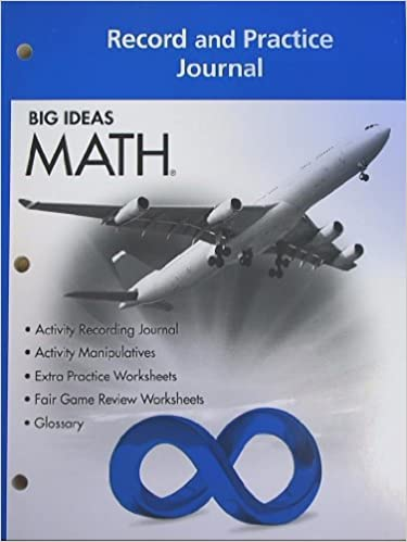 BIG IDEAS MATH: Record & Practice Journal Blue/Course 3: HOLT ...