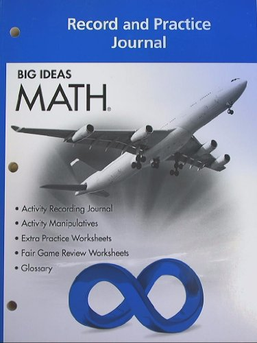 Big Ideas Math  Record   Practice Journal Blue Course 3