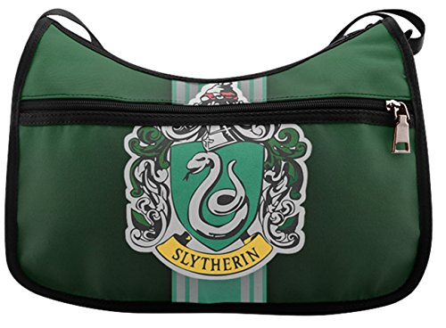Classic Everyday Hobo (Classic Everyday Hobo Female Women Hobo Shooulder Bags Cross-Body Handbag with Green Slytherin Harry Potter Print)