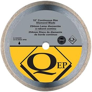 Qep 6 1003q Continuous Rim Diamond Blade 10 Inch Diameter