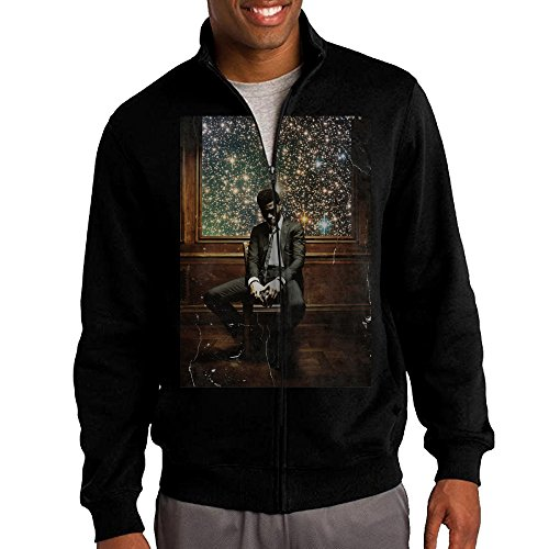 Kid Cudi Man On The Moon II Men's Zip Sweatshirt Hooded Jacket