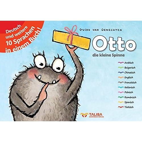 Otto - die kleine Spinne: (Elfsprachige Softcover Edition)