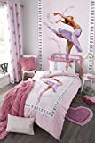 Catherine Lansfield Ballerina Easy Care Single Duvet Set Pink