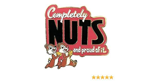 Chip n Dale Completely Nuts Disney Pin #62256 WDW DLR