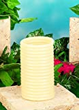 Candle by the Hour 80-Hour Refill, Eco-friendly Natural Beeswax with Cotton Wick