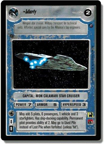 STAR WARS CCG REFLECTIONS II FOIL LIBERTY 98VR