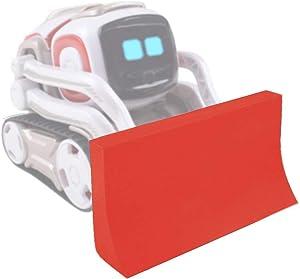 MoimTech Compatible with Anki Cozmo Robot Accessories, Cozmo Robot Bulldozer Toys Kit (Red)