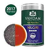 Vahdam, Nilgiri Tea, Tin Caddy, 100% Pure, Unblended, Single Origin Nilgiri Loose Leaf Black Tea - Grown, Packaged & Shipped Direct from Source in India -Perfect Tea Gift Set - 3.53oz (Pack of 1)