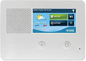"""2gig GC2E Security and Control Alarm Panel, Enhanced Security, 5"""" Touch Screen, (2GIG-GC2E-345)"""