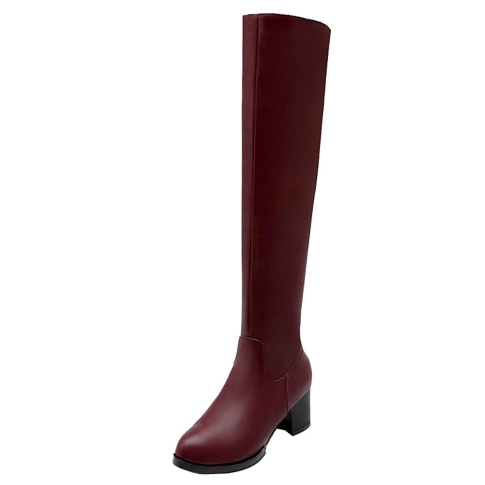 SJJH 19001 , Boots Chelsea Boots SJJH Femme Rouge ed2af5a - boatplans.space