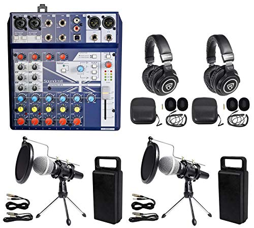 Where to find podcast equipment kit for 2?