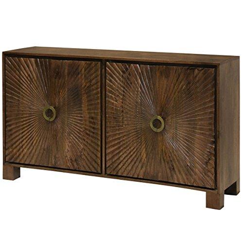 Natural Wood Wood Finish Cabinet - 1