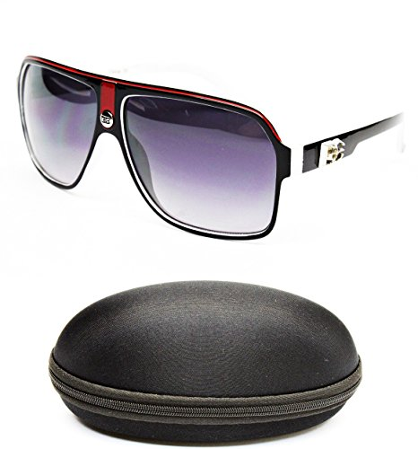 D5005-cc Designer Eyewear Turbo Aviator Sunglasses (719 - Cc Eyewear