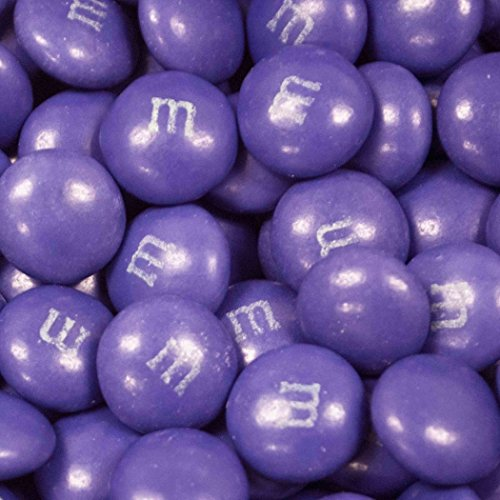 Purple M&Ms Candy 2lb - Milk Chocolate ()