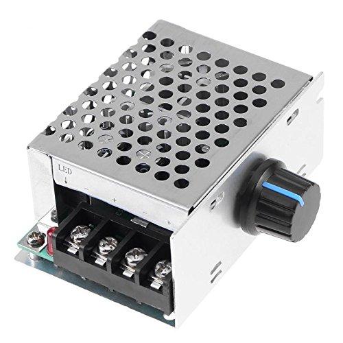 LALICORP DC9V-60V Brush Motor Speed Controller Generator Regulator Pulse Width Modulator With Shell Cover Adjutable Speed Driver Switch