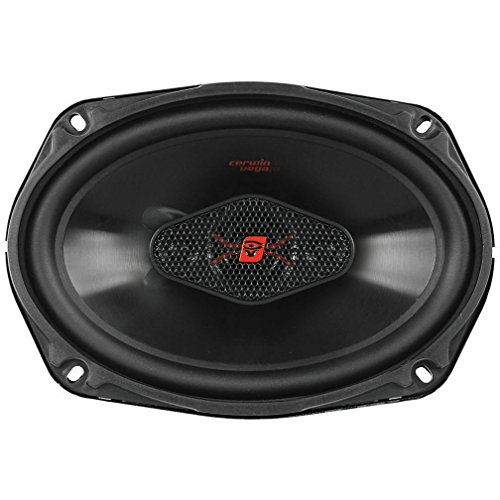 CERWIN VEGA H4694 HED 6-Inch x 9-Inch 440 Watts Max/65Watts RMS Power Handling 4-Way Coaxial Speaker Set