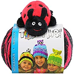 DMC DMCTTY16.LB Top This Metallic Ladybug Yarn Kit