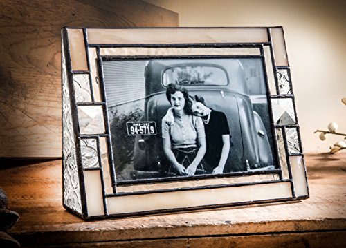 White Picture Frames 4x6 Horizontal Photo Home Decor Wedding Ivory Opalescent Stained Glass J Devlin Pic 407 46h Buy Online In Aruba At Aruba Desertcart Com Productid 69834934