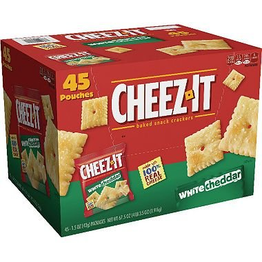 Cheez-It White Cheddar Crackers Snack Packs (1.5 oz. packets, 45 ct.)