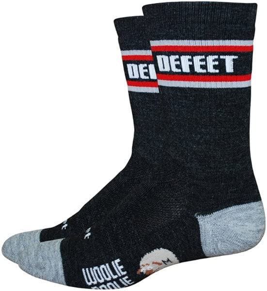 DeFeet Woolie Boolie Comp 6inch Aztec Cycling//Running Socks WBAZTEC Aztec