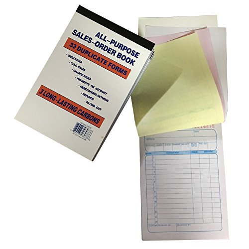July's Best Sales Order Book Receipt Book 33 Triplicate Forms Carbonless 3 Copy's - Wholesale Lot of 10 by July's Best