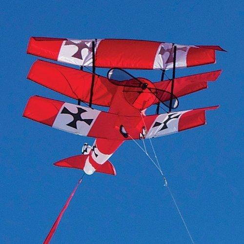 Premier Kites Red Baron Tri-Plane Kite by Premier Kites