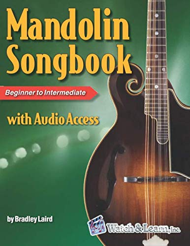 Mandolin Songbook with Audio Access