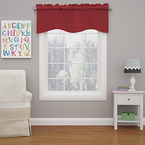 red curtain valance - 6
