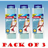 Vileda Magic Mop Angled Head Refill Pack of 3 - 096511 X 3