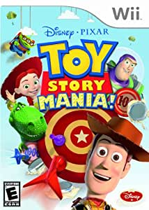 Toy Story Mania! (Bilingual game-play) - Wii Standard Edition