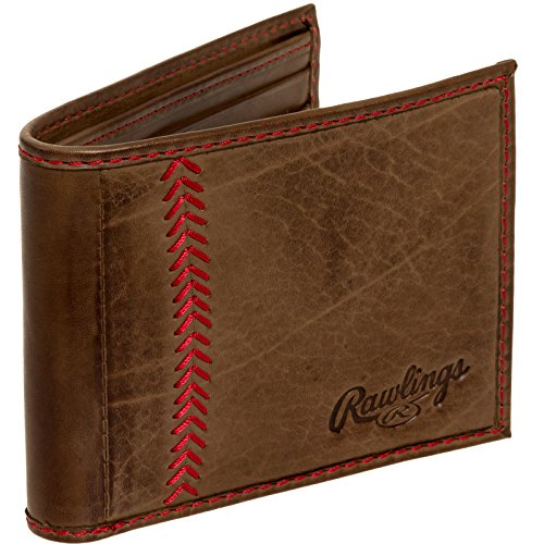 rawlings-mens-tanned-leather-baseball-stitch-embroidered-wallet-light-brown