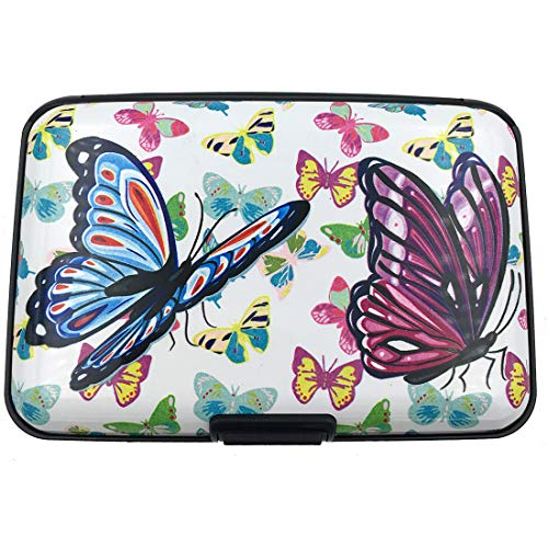Butterfly Credit Card - RFID Credit Card Holder for Women or Men,Theft Proof Credit Card Holder,Slim Design Fits in Pocket (butterfly) ...