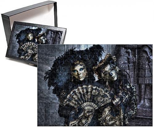 Jigsaw Costume Australia (Photo Jigsaw Puzzle of Carnival Venice Italy Masked Costumes)