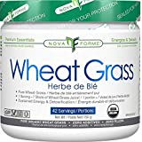 NOVAFORME Wheat Grass - 100% Pure Organic Goodness -42 Servings - 150 Gram
