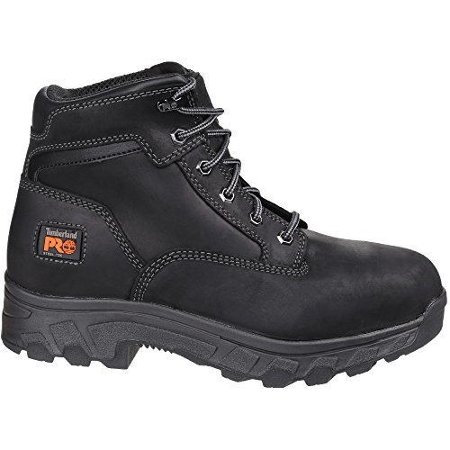 Timberland Mens Workstead Lace Up Leather Work Safety Boot Black