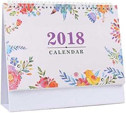 2017-2018 Bürokalender Notizbuch/Monatlich, Wöchentlich, Täglich, Ziele-Natürlich