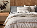 Coyuchi Pacific Grove Organic Duvet Cover, King, Sunset