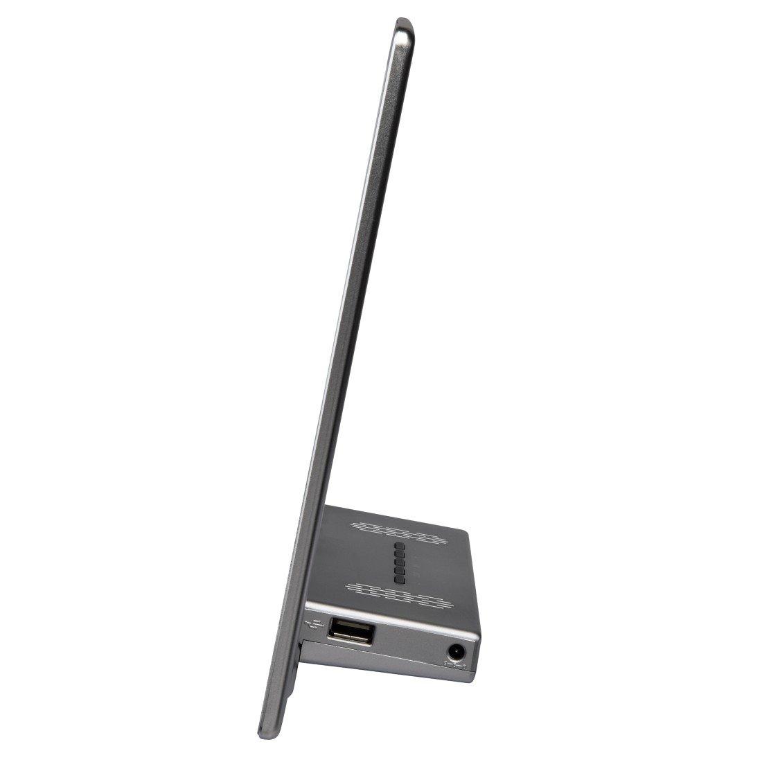Hama Digitaler Bilderrahmen Slim Steel Full HD 13,3: Amazon.de: Kamera