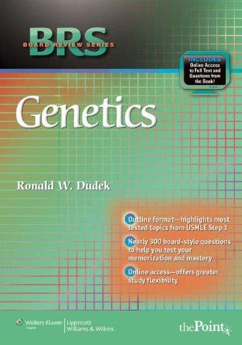 BRS Board Review Series Genetics (1st 2012) [Dudek]
