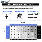 Shaxea Mens Seamless Compression T Shirt Hide